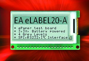 ePaper Display - Electronic Label