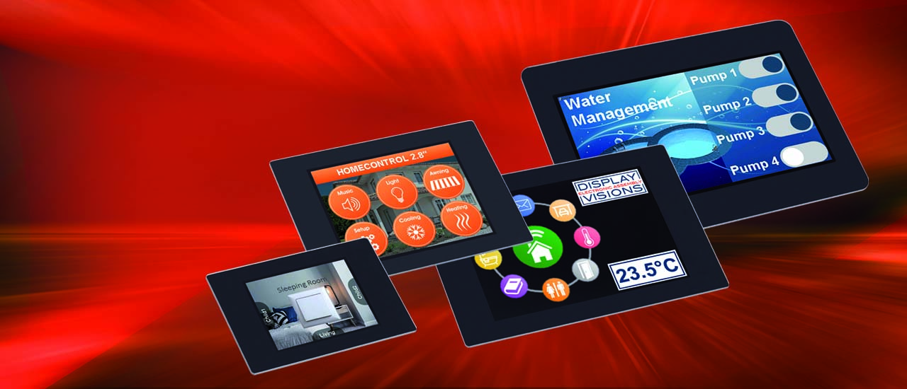 Display solutions Module solutions, design-in modules, modern intelligent displays, text, graphics, touch.