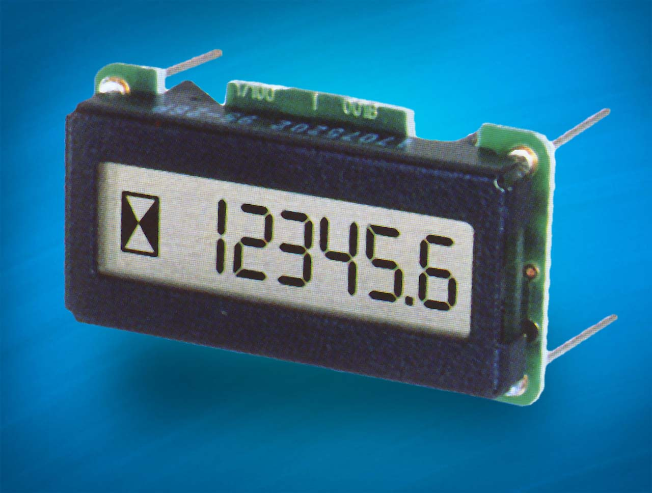 EA 2070: 6 digit counter with EEPROM